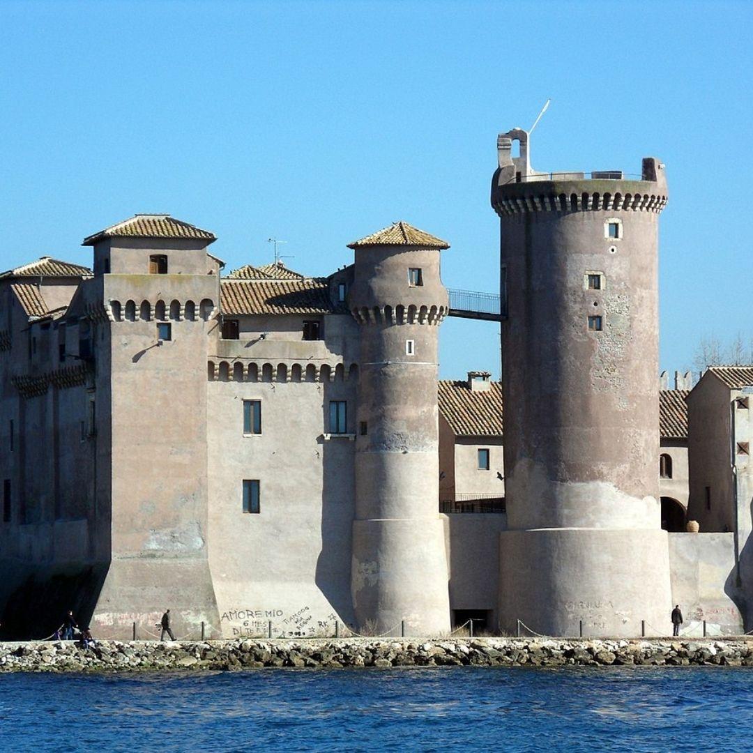 castello di santa severa visite guidate roma